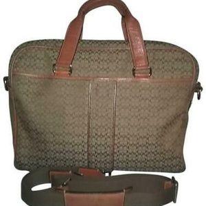 Coach Hudson Computer Laptop Messenger Bag